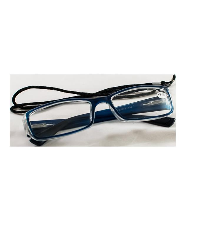 9fb2d66077 Αρχική σελίδα   ΜΟΔΑ   ΑΞΕΣΟΥΑΡ   Γυαλιά Πρεσβυωπίας Μπλε +2.00 (με διάφανη  θήκη   κορδόνι)