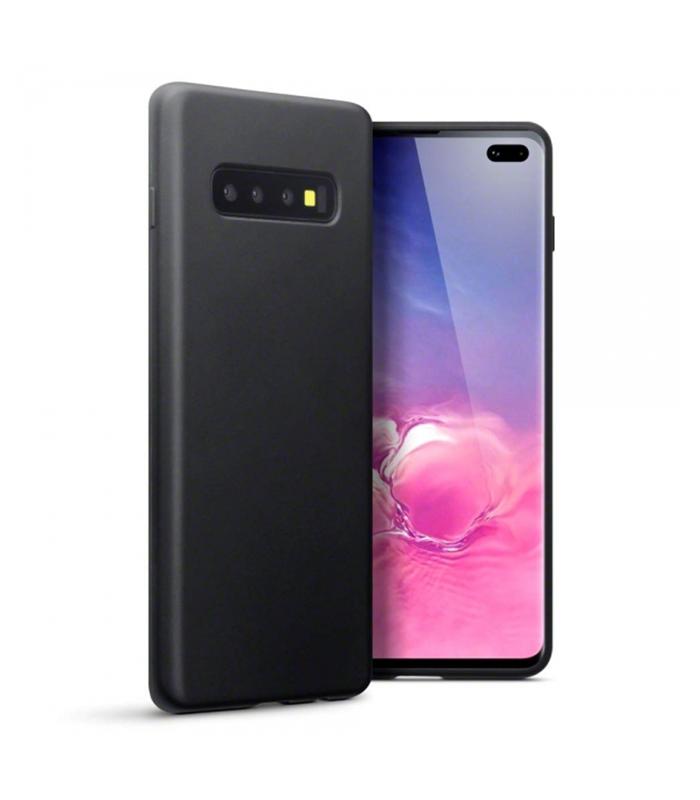 Θήκη Σιλικόνης TPU Για Samsung Galaxy S10 Plus – Black OEM