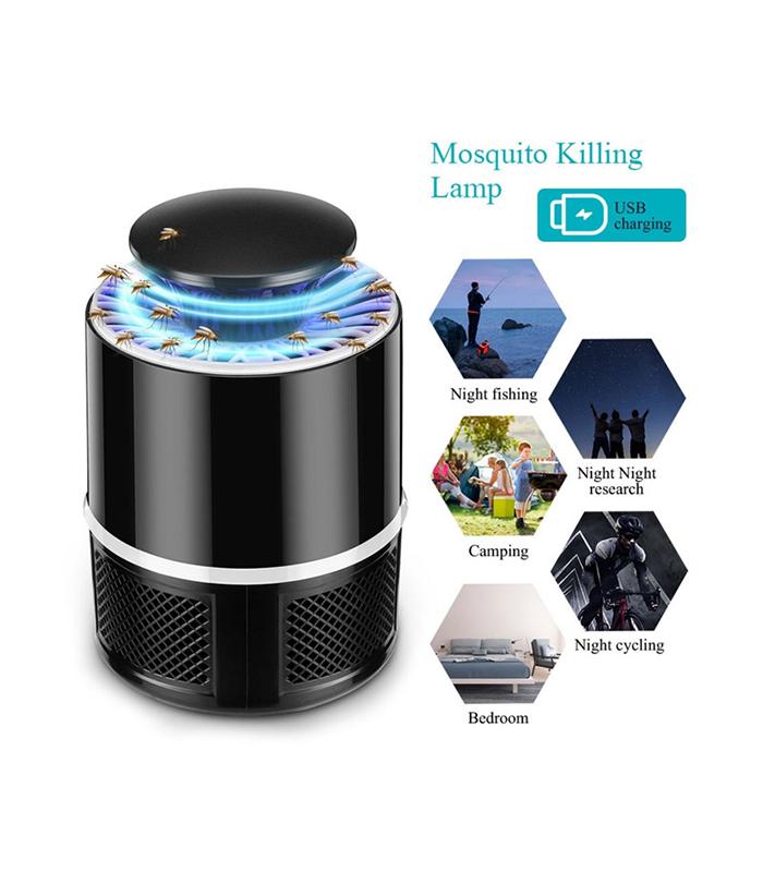 Σύστημα Εξολόθρευσης Κουνουπιών USB Με Ανεμιστήρα & LED Φωτισμό (GEM BN5488)