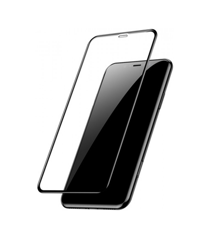 Tempered Glass 9H – Για iPhone 11 Pro Max Full Cover – Μαύρο