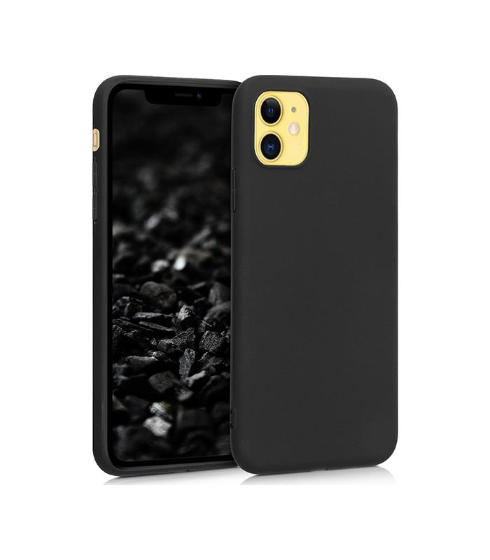 Θήκη Σιλικόνης TPU Για iPhone 11 – Μαύρη