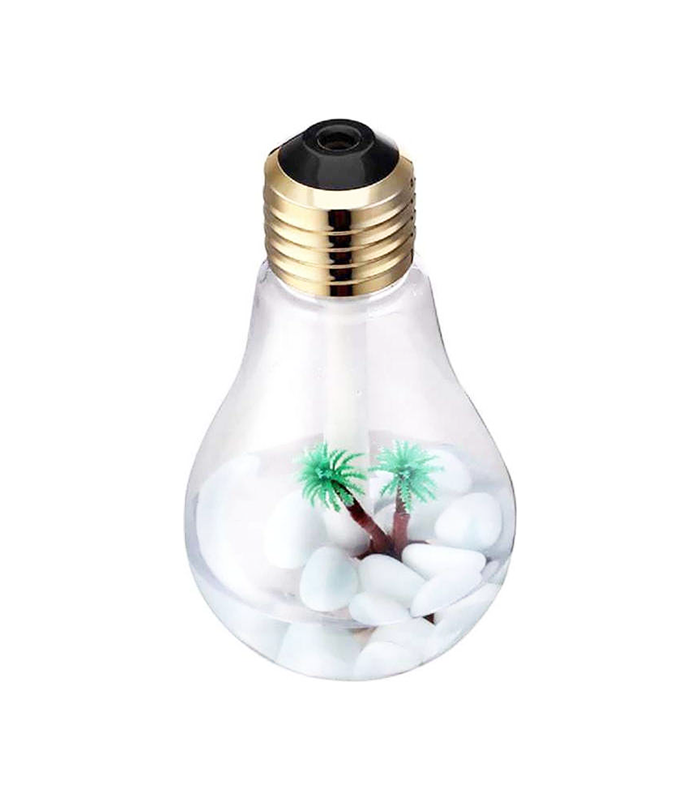 Υγραντήρας Υπερήχων Led + Συσκευή Αρωματοθεραπείας – Bulb Humidifier
