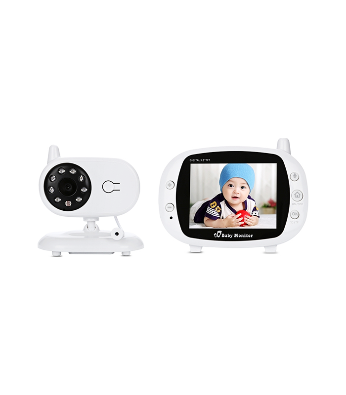 3.5 inch Wireless TFT LCD Video Baby Monitor with Night Vision K32 – OEM