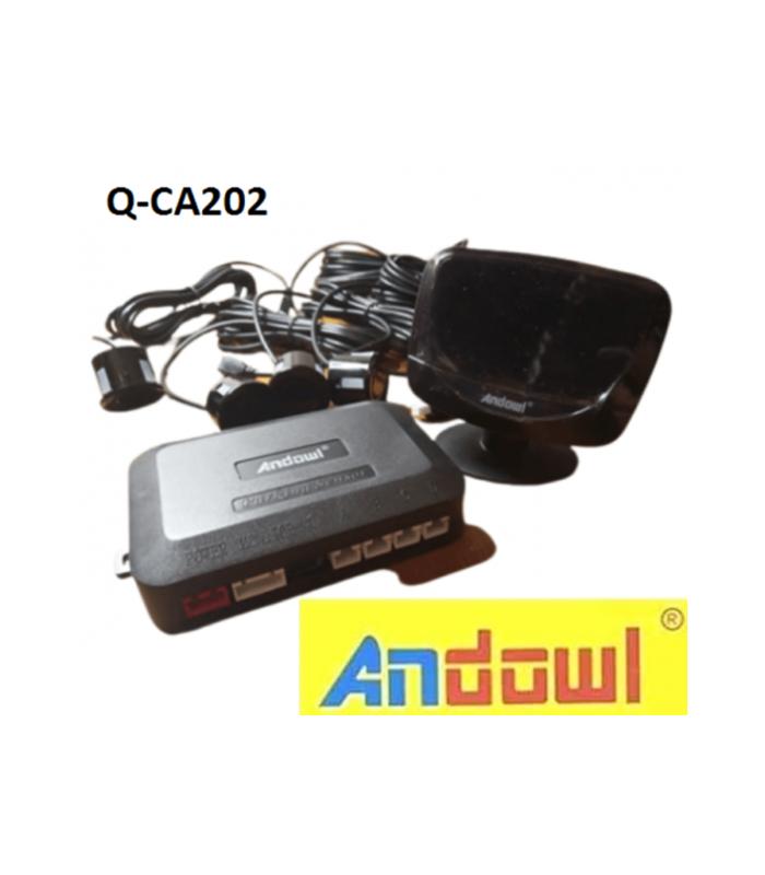 Σύστημα παρκαρίσματος με 4 αισθητήρες και οθόνη Q-CA202 ANDOWL